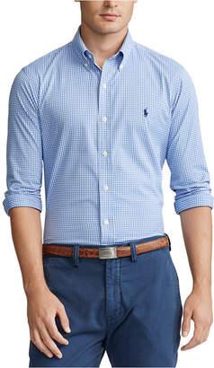 Polo Ralph Lauren Men Classic Fit Performance Plaid Twill Shirt