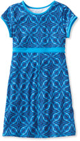 L.L. Bean Girls Fitness Dress, Print
