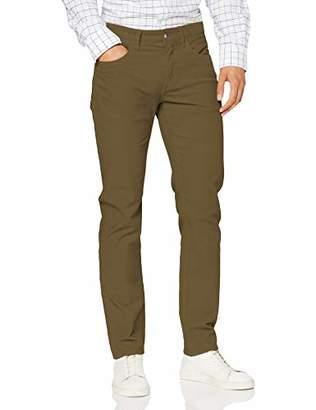 Brooks Brothers Men's Red Fleece Garment Dye 5pocket 15w Corduroy Trouser,(Size: 30 32)