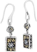 Lois Hill 24K & Silver Drop Earrings