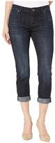 KUT from the Kloth Petite Catherine Boyfriend Jeans in Depth Wash (Depth Wash) Women's Jeans