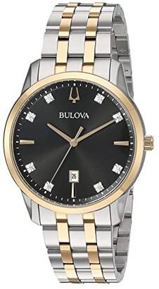 Bulova Sutton - 98D165 (Two-Tone Yellow) Watches