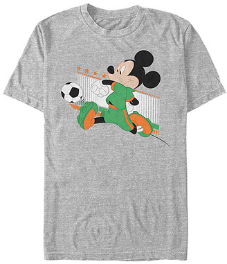 Fifth Sun Tee Shirts ATH - Mickey Mouse Athletic Heather Ireland Kick Tee - Adult