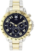 Zoo York Mens Two Tone And Blue Bracelet Watch