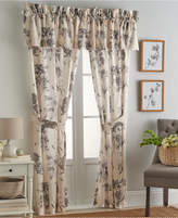 Sanderson Etching & Roses Drapery Pair Window Panels Bedding