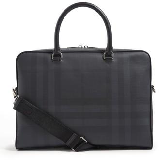 Burberry Check Briefcase