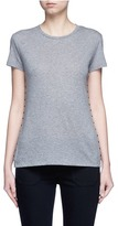 Valentino 'Rockstud Untitled' mélange jersey T-shirt