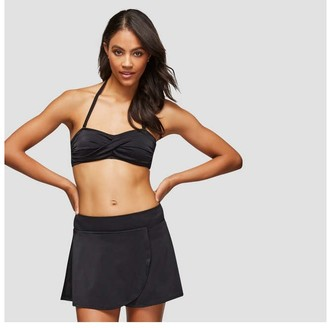 Joe Fresh Unisex Skirt Bikini Bottom, JF Black (Size S)