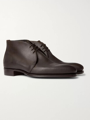 Kingsman + George Cleverley Suede Chukka Boots