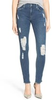 James Jeans Distressed Denim Leggings (Worn In)