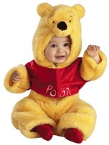 Disguise Disney Winnie The Pooh Deluxe Two-Sided Plush Jumpsuit Infant/Toddler Costume