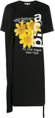 McQ Acid Warehouse T-shirt dress