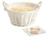 World Market Large Round White Basket Kit