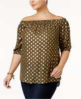 MICHAEL Michael Kors Size Off-The-Shoulder Top