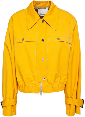 3.1 Phillip Lim Snap-detailed Cotton-blend Jacket