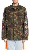 Off-White Camouflage-Print Cotton Field Jacket