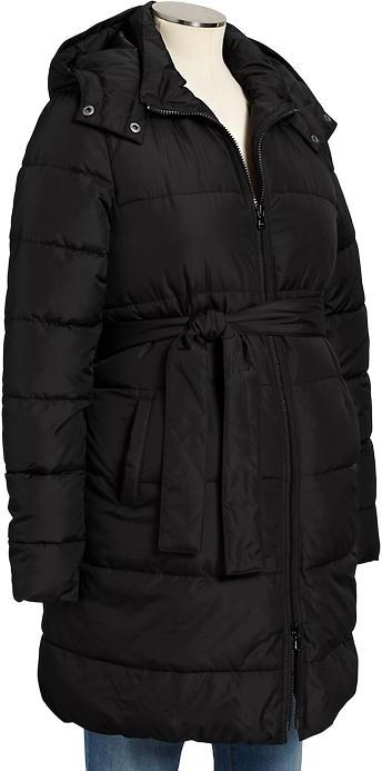 Old Navy Maternity Long Frost Free Coats