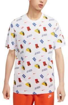 Nike Men's Taco-Print T-Shirt