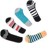 Smiths 5 Pairs Men's No Show Socks
