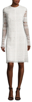 Oscar de la Renta Lace Sheath Dress