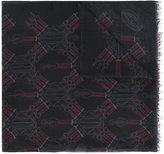 Valentino Garavani Valentino Love Blade scarf - men - Silk/Modal/Cashmere - One Size