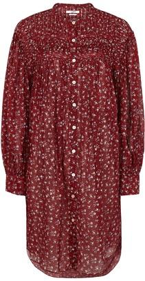 Etoile Isabel Marant Plana red floral-print cotton dress