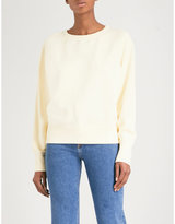 Rag & Bone Raglan-sleeve cotton-jersey sweatshirt