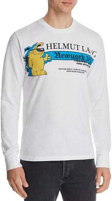 Helmut Lang Standard Long-Sleeve Graphic Tee