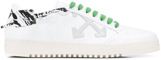 Off-White Crocodile Pattern 2.0 Sneakers