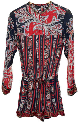 Etoile Isabel Marant Red Viscose Jumpsuits