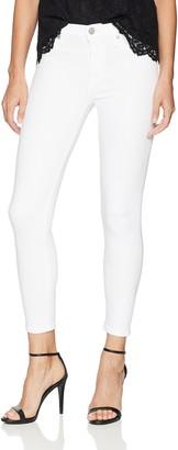 Hudson Women's Petite NICO Midrise Super Skinny 5 Pocket