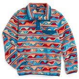 Patagonia Boy's 'Lightweight Synchilla Snap-T' Fleece Pullover