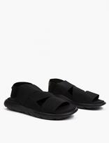 Black Qasa Sandals