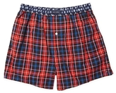 Tommy Hilfiger Red Plaid Woven Boxer