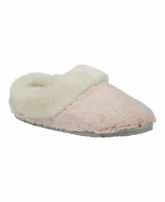 Lemon Women's Fur Scuff Slipper