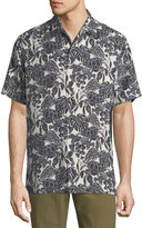 Tommy Bahama Turtle Cove Short-Sleeve Silk Shirt