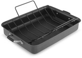 Calphalon Select by 16 Inch Hard-Anodized Non-stick Roaster with Rack