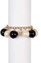 Carolee Monochromatic Faux Pearl Bracelet