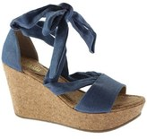 Kenneth Cole Reaction Women's Sole Rise Platform Wedge Sandal.