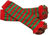 Aivtalk Toddler Kids Ruffles Design High Stockings Leg Warmers