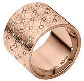 Michael Kors Pave Monogram Ring