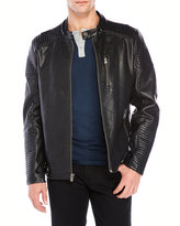 X-Ray Faux Leather Motorcycle Jacket