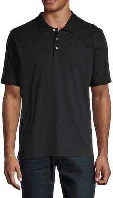 Robert Graham Short-Sleeve Cotton Polo