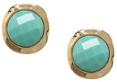 Dillard ́s Tailored Key Items Round Hammered Clip-On Earrings
