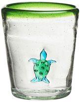 Global Amici Marina Turtle 4-pc. Double Old-Fashioned Glass Set