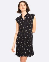 Oxford Pippa Bird Print Dress