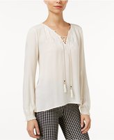 Sanctuary Adeline Lace-Up Top
