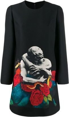 Valentino x Undercover Lovers print dress