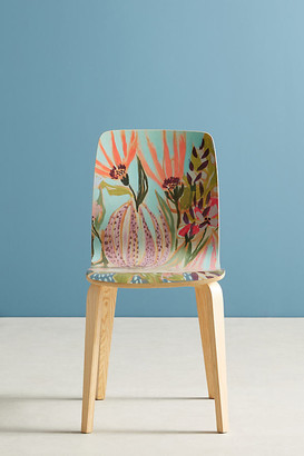 Jardiniere Tamsin Dining Chair By Lulie Wallace in Pink Size ALL