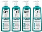 Curel Hydra Therapy Wet Skin Moisturizer for Dry & Extra-Dry Skin, 12 Ounces (Pack of 4)